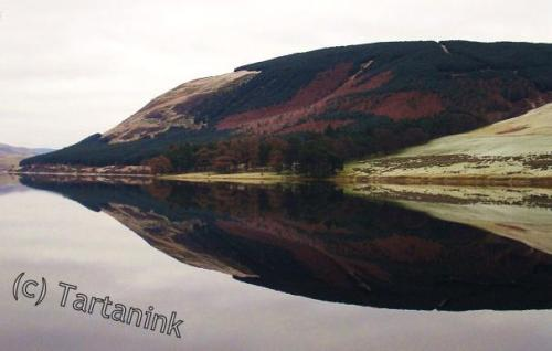 Reflection on Loch